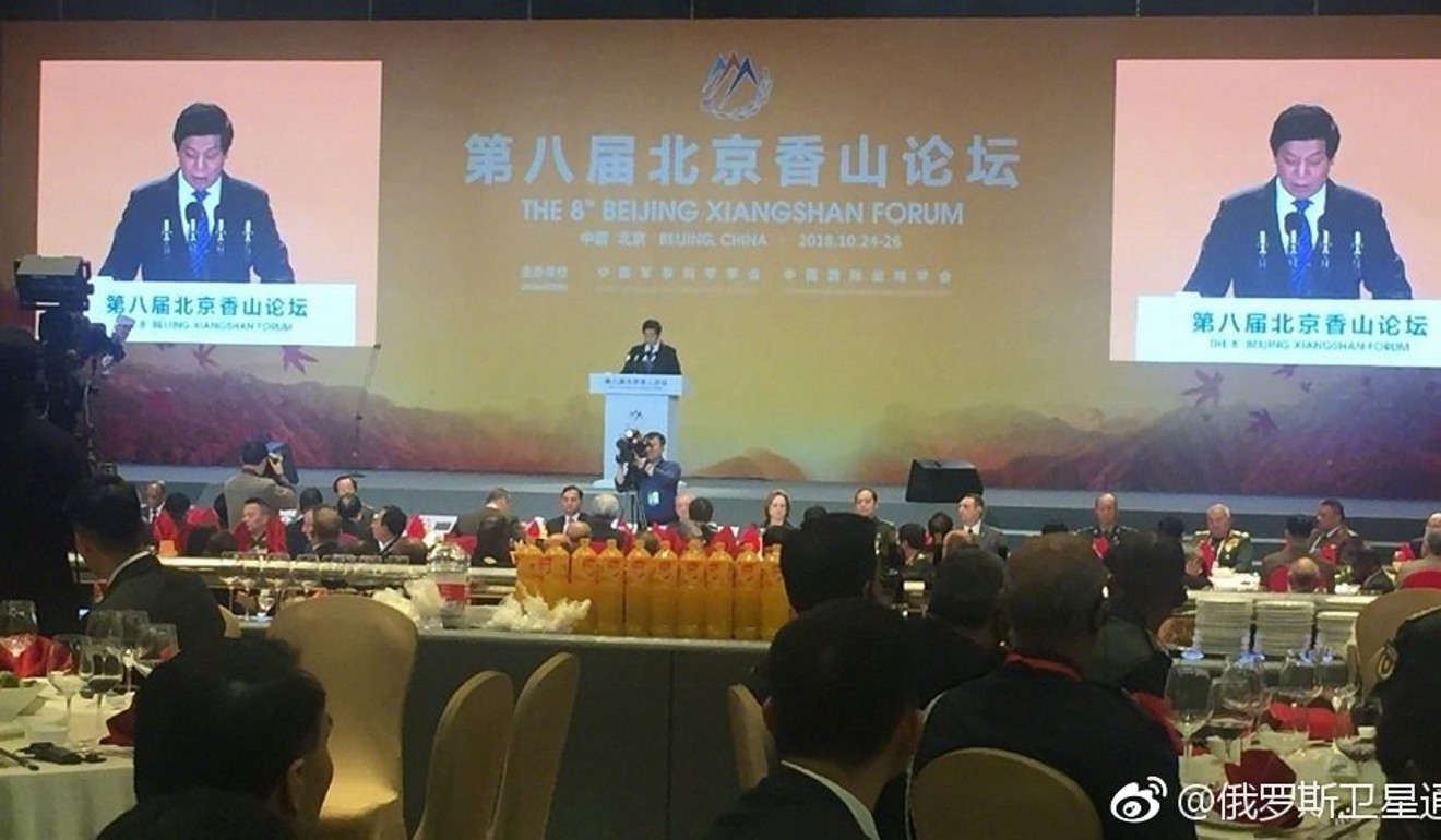 US delegates at Beijing security forum set to face tough time over stance on Hong Kong, 'provocation' in South China Sea