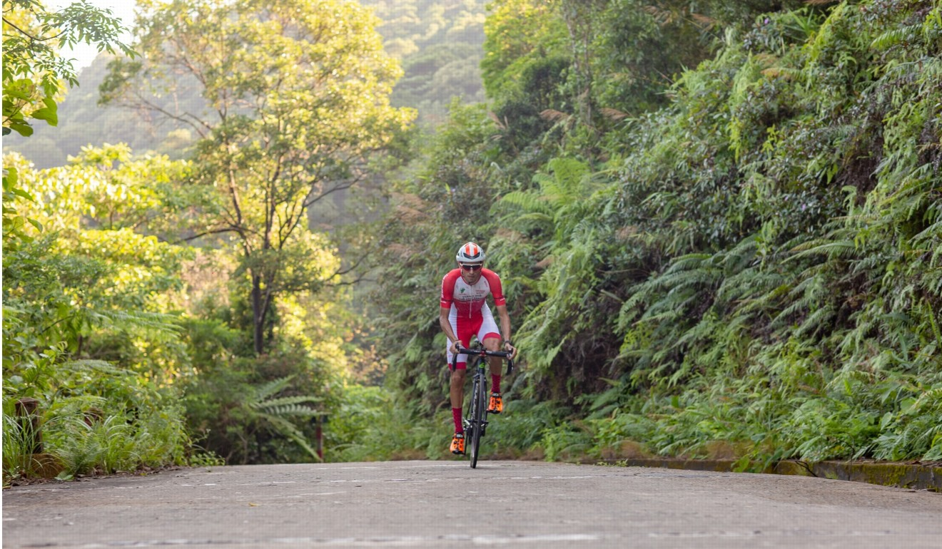 Coupe de Hue cycling race in Vietnam, where Cadel Evans went for it on the time trail uphill. Photo: Coupe de Hue