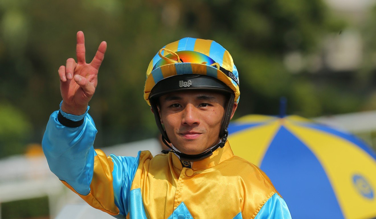 Alfred Chan hopes to take confidence from his double on Sunday.