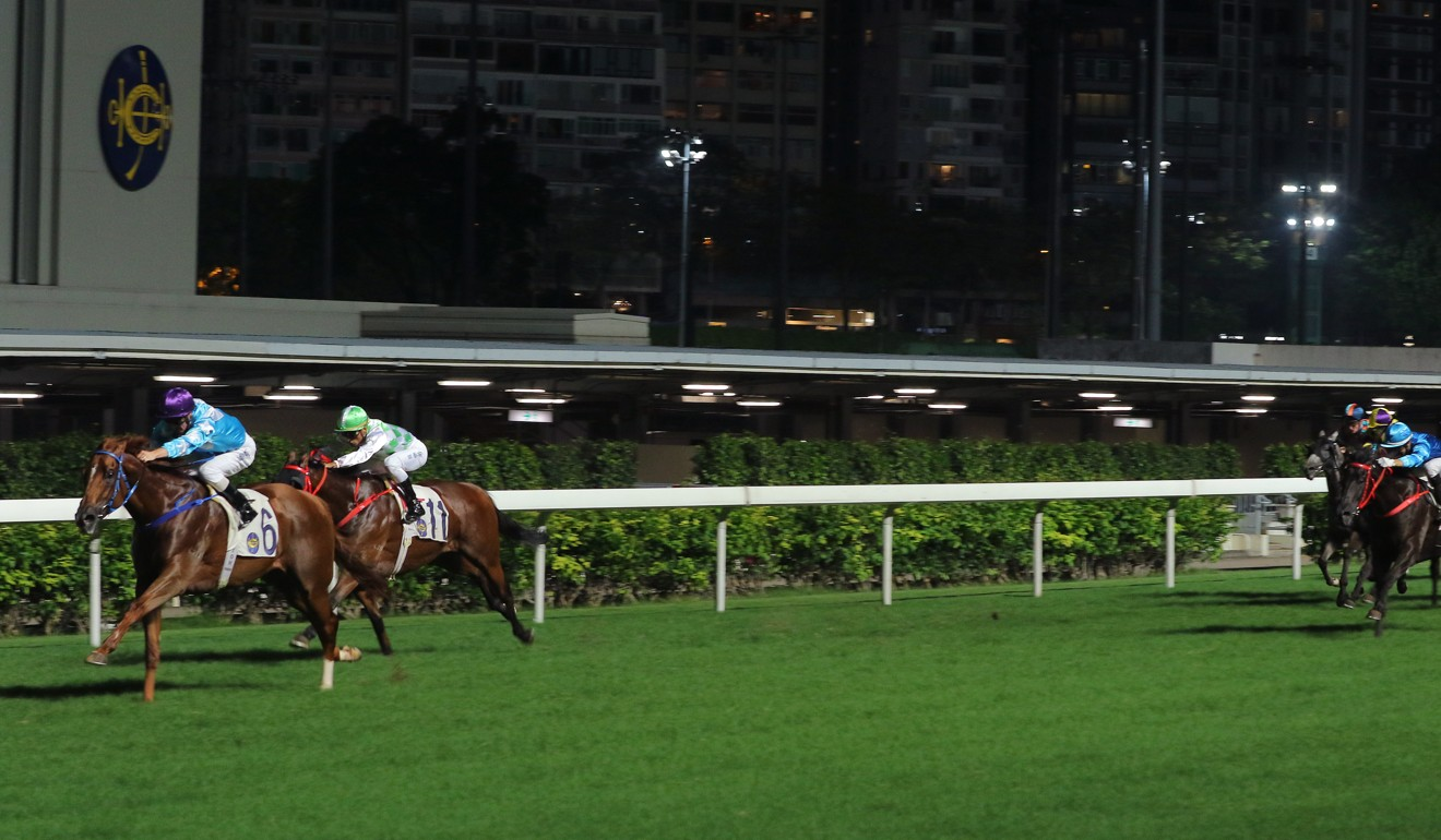 Yee Cheong Baby wins easily at Happy Valley last season.