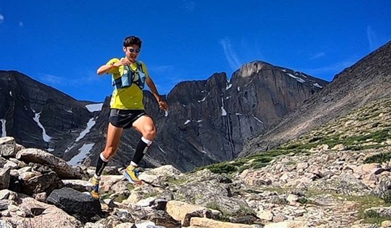 Sage Canaday conquers the mountains. Photo: Instagram