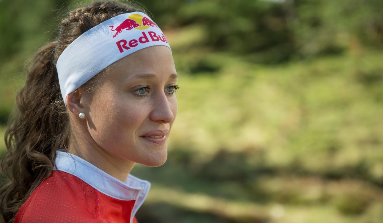 Judith Wyder performed better than she expected by finishing first. Photo: Red Bull