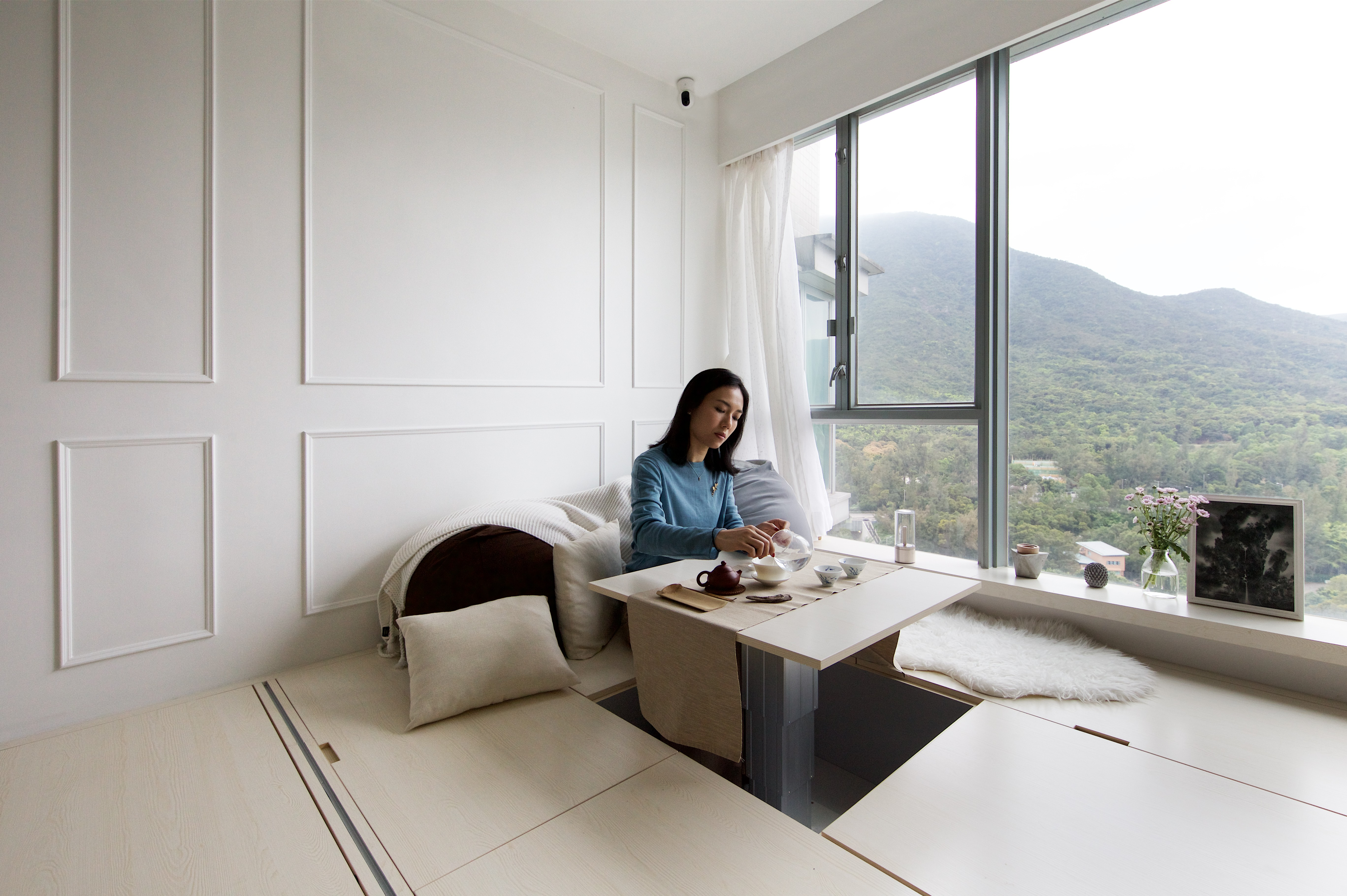 Feng Shui Home Design feng shui and hi-tech work in perfect harmony in 492 sq ft