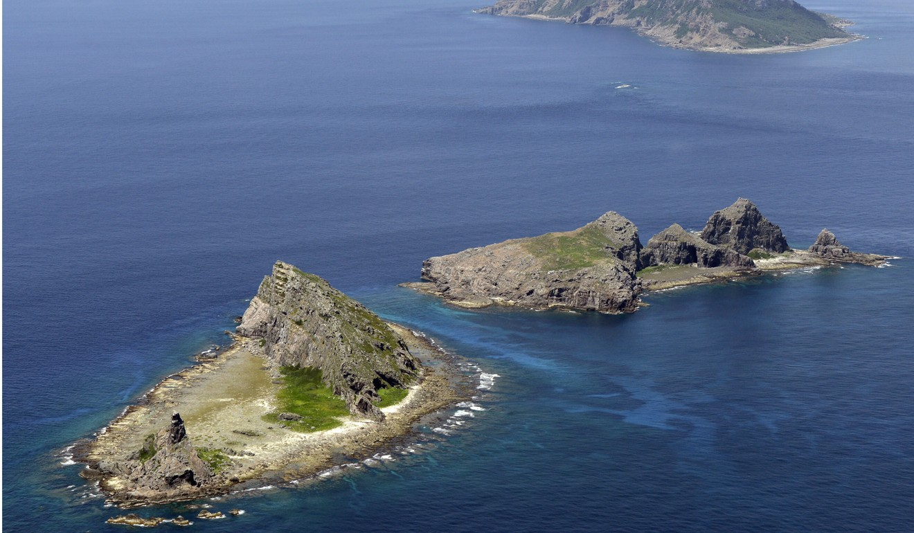 The Diaoyu Islands in the East China Sea are the subject of a territorial dispute between Tokyo and Beijing. Photo: Kyodo