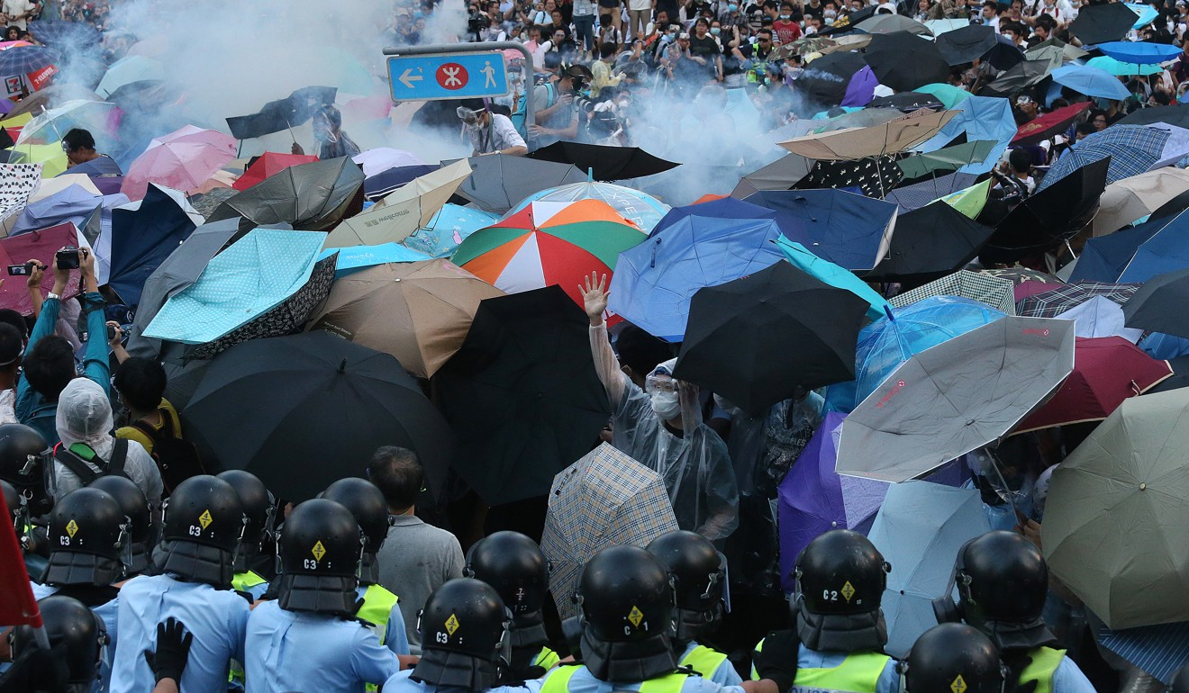 There was less friction during the Occupy campaign, a sociologist says. Photo: SCMP