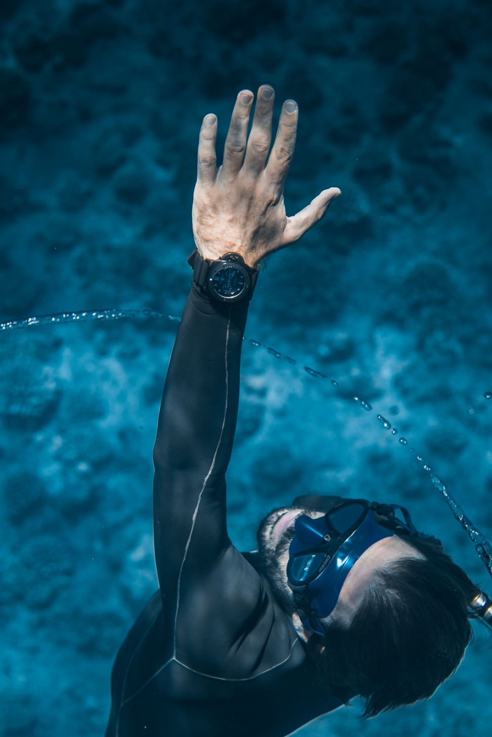 Guillaume Néry, the record-breaking free diver on a mission to save the world's coral reefs: 'there is a big chance they will die'