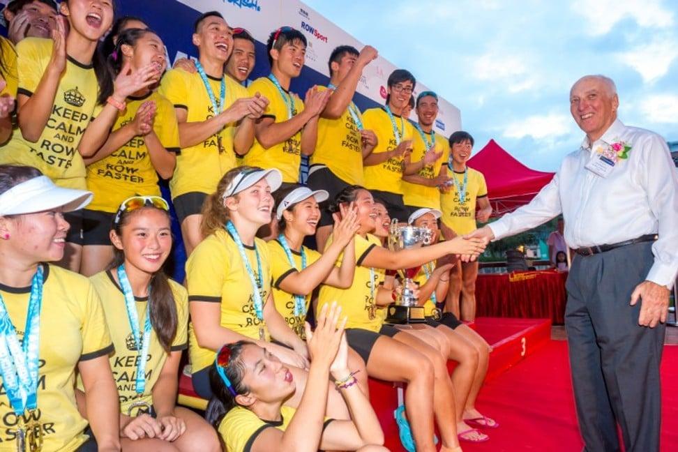Rob Wilson says Hong Kong is the perfect place for coastal rowing. Photo: Hong Kong China Rowing Association