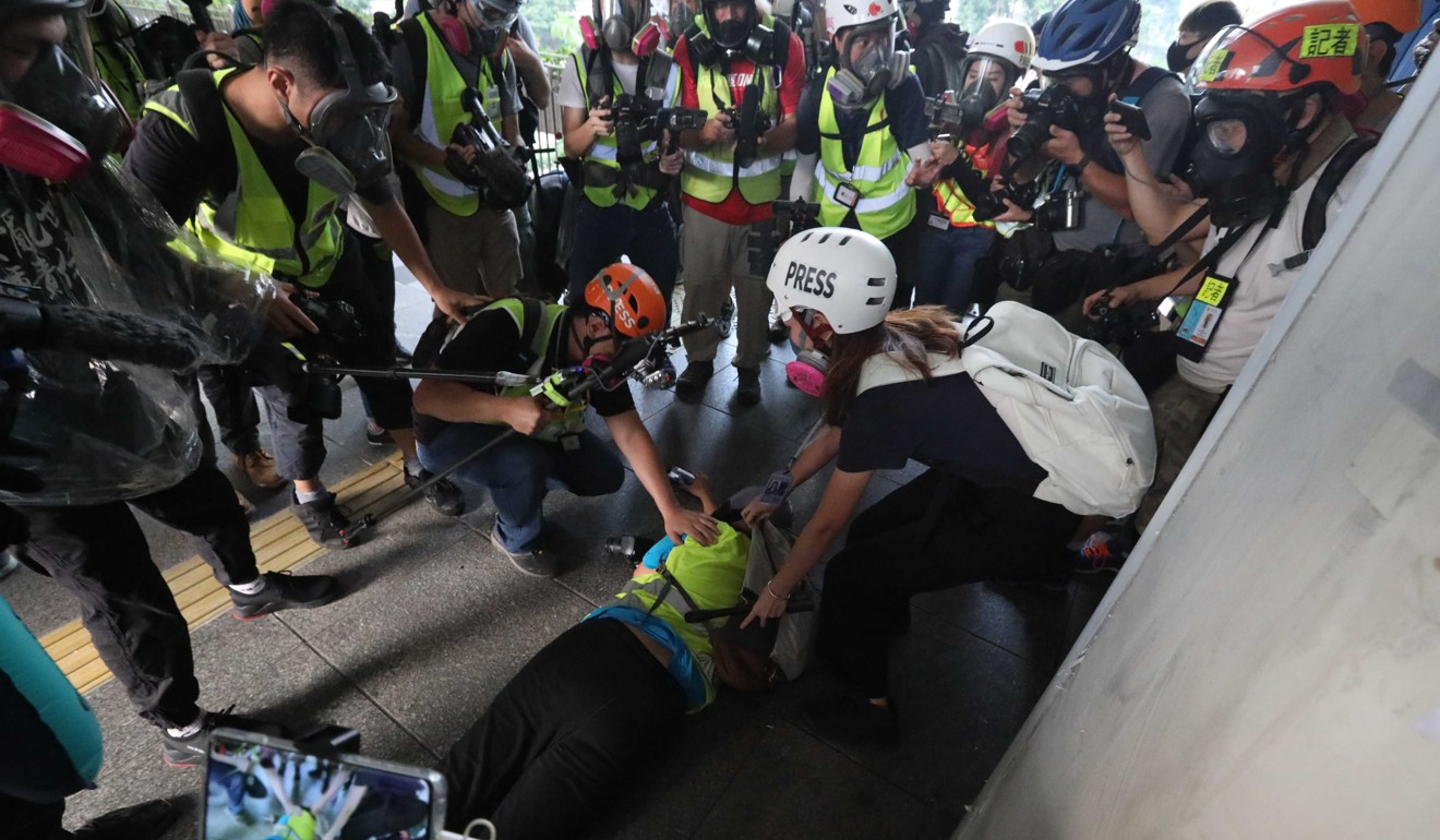 Hong Kong's public hospitals setting up 'relaxation stations' for workers stressed by protests