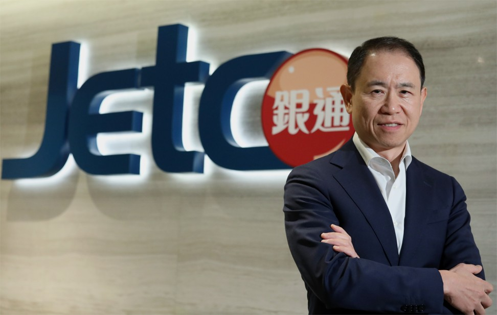 Jetco's chief executive officer Angus Choi, during an interview in Wan Chai on 29 October 2019. Photo: Nora Tam