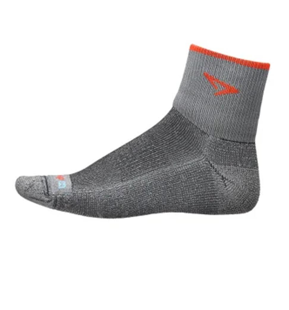 Drymax Maximum Protection Trail Run 1/4 Crew Socks. Photo: Drymax