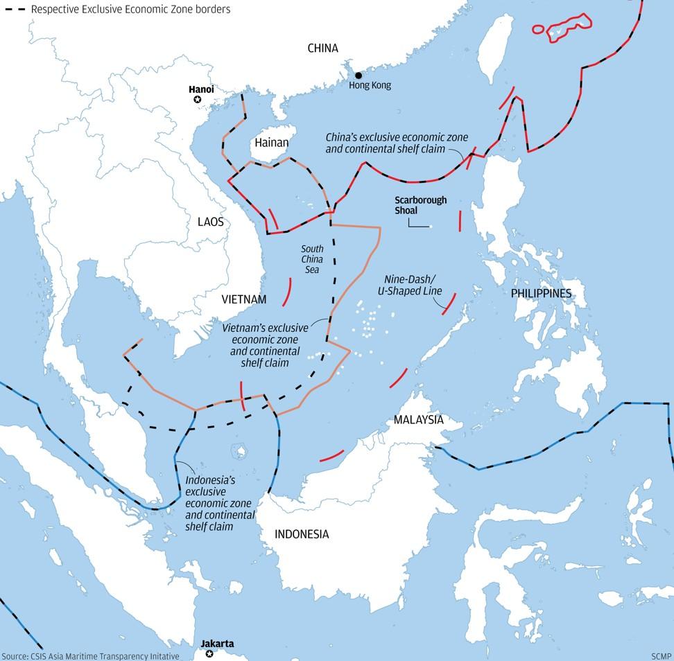 Sengketa wilayah perairan di Laut Cina Selatan
