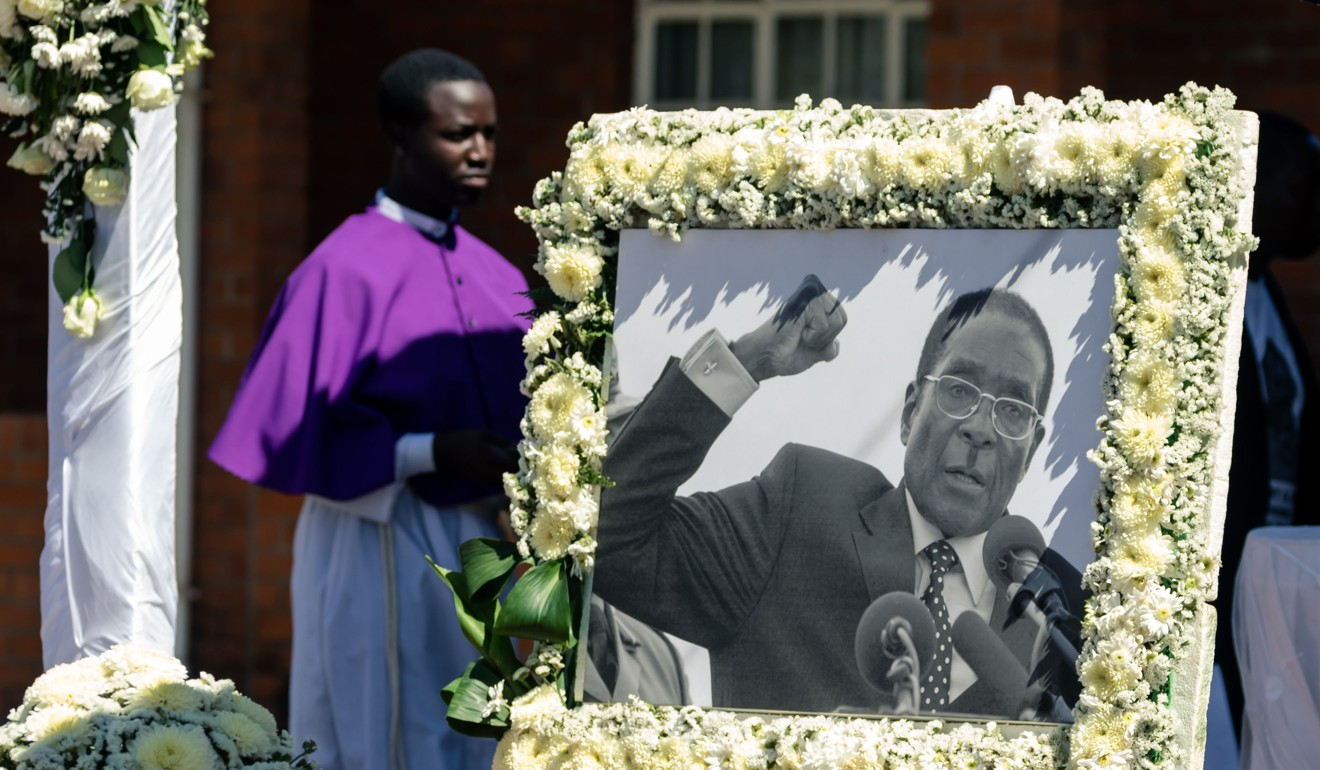Beijing once provided arms and training to the guerillas of the Zimbabwe African National Liberation Army, the military wing of Robert Mugabe's party. Photo: AFP