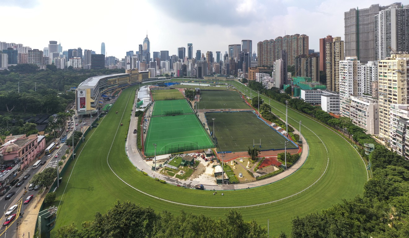 Happy Valley racecourse. Photo: Martin Chan