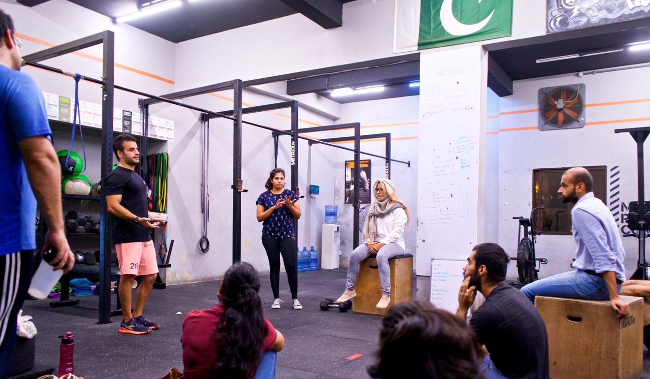 Bilal Tariq at his CrossFit gym in Pakistan. Photo: Handout