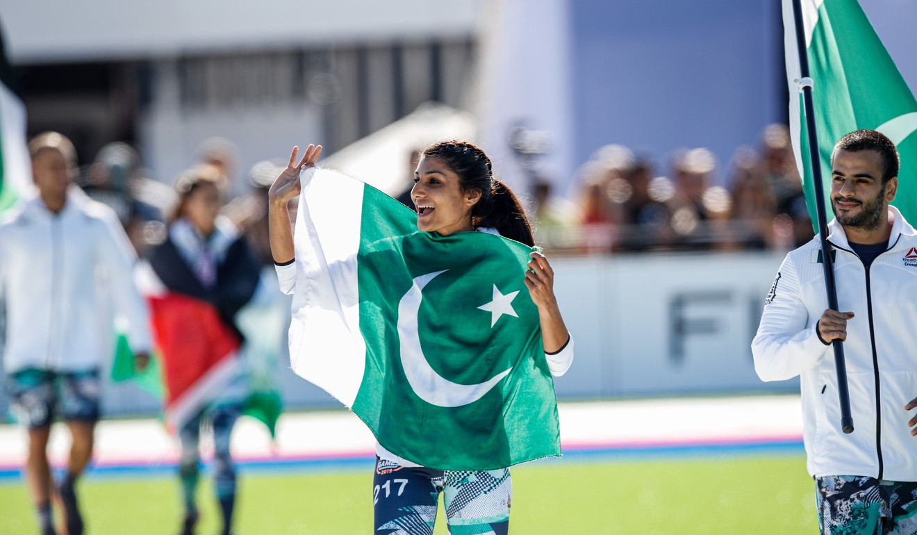 Mishka Murad and Bilal Tariq representing Pakistan at the 2019 CrossFit Games. Photo: Handout
