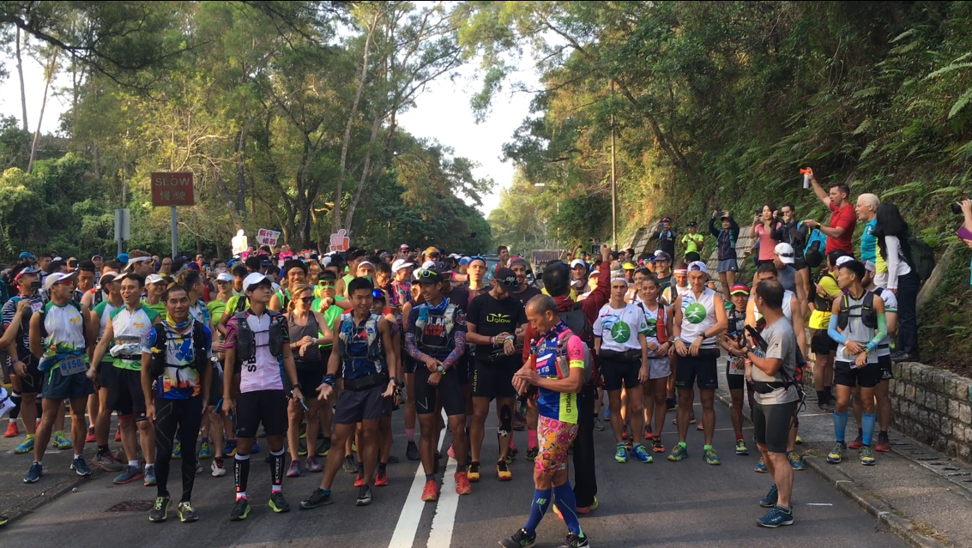Hong Kong protests forced the Oxfam Trailwalker cancellation, but runners 'won't stop at anything' to complete the 100km course