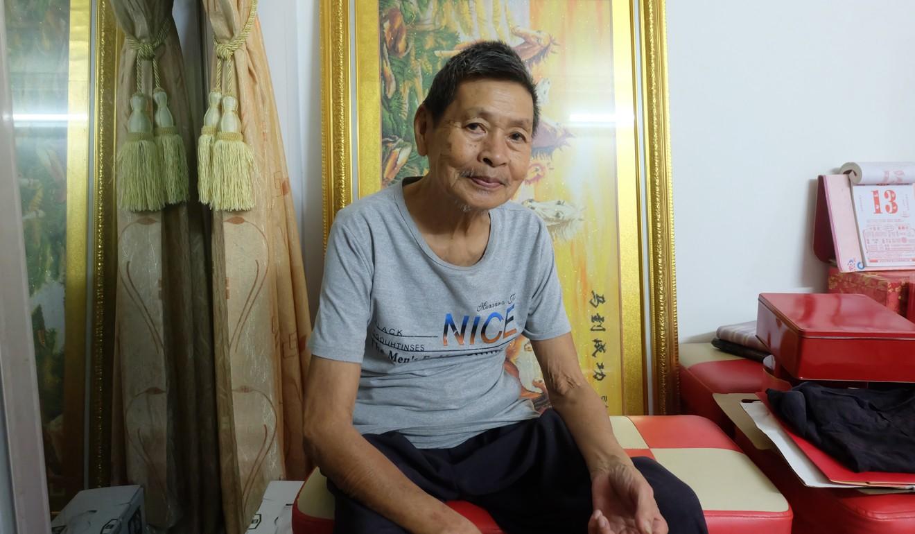 Huang Hua Tung in his flat. Photo: Randy Mulyanto