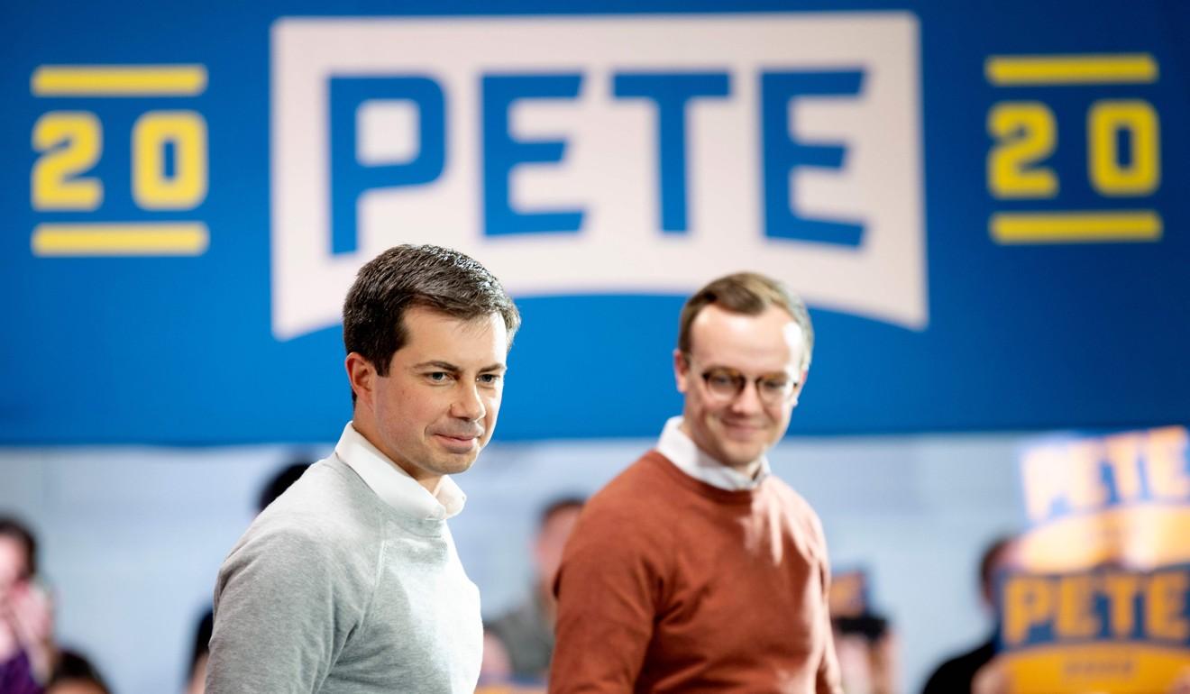 'Mayor Pete' Buttigieg surges to number one spot in Iowa poll, ahead of Democratic rivals Biden, Warren, and Sanders
