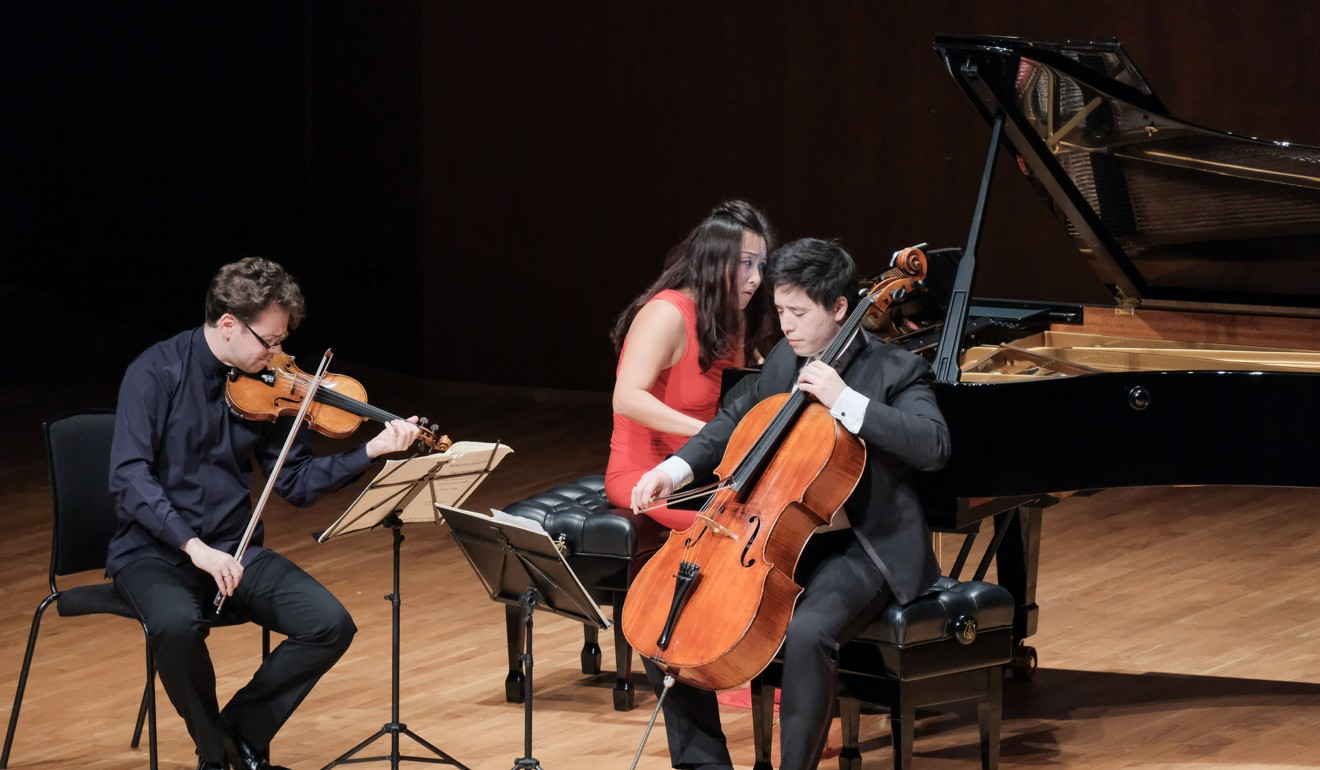 Joyfulness the hallmark of Sitkovetsky Trio's recital and orchestral performances of works by Beethoven, Tchaikovsky and Rachmaninov