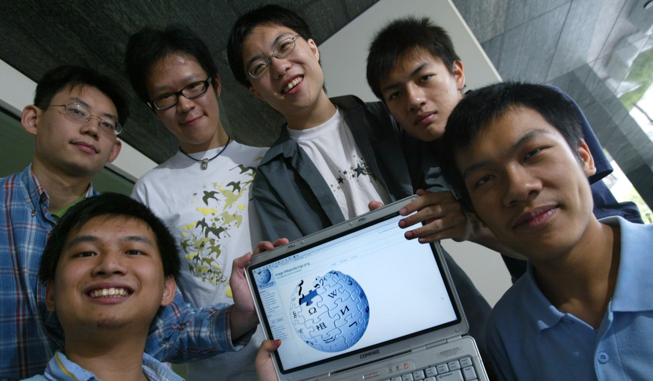 A gathering of an early set of Hong Kong Wikipedian writers. Photo: SCMP