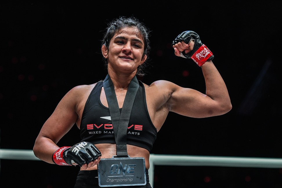 India's wrestling prodigy Ritu Phogat now its great MMA hope after slick One Championship debut