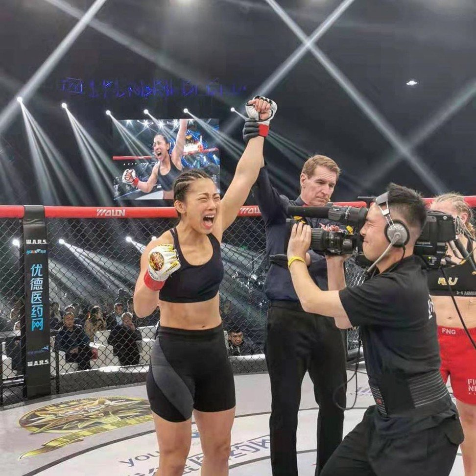 UFC's Zhang Weili gives Hong Kong MMA star Ramona Pascual seal of approval for 26-second TKO
