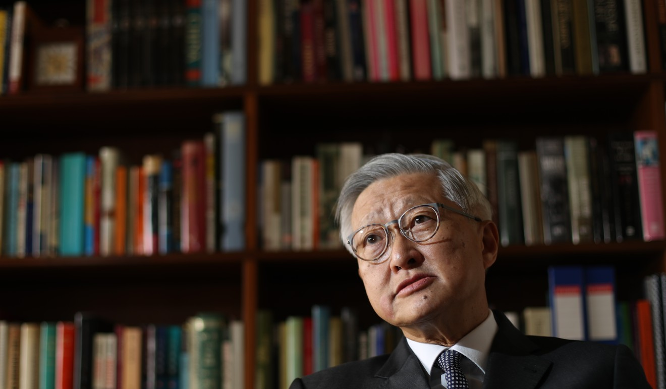 Former chief justice Andrew Li. Photo: Nora Tam