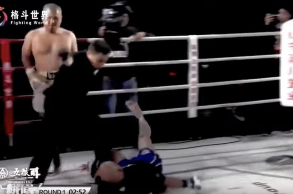 Two kung fu 'masters' demolished by Chinese MMA fighter Xu Xiaodong battle each other