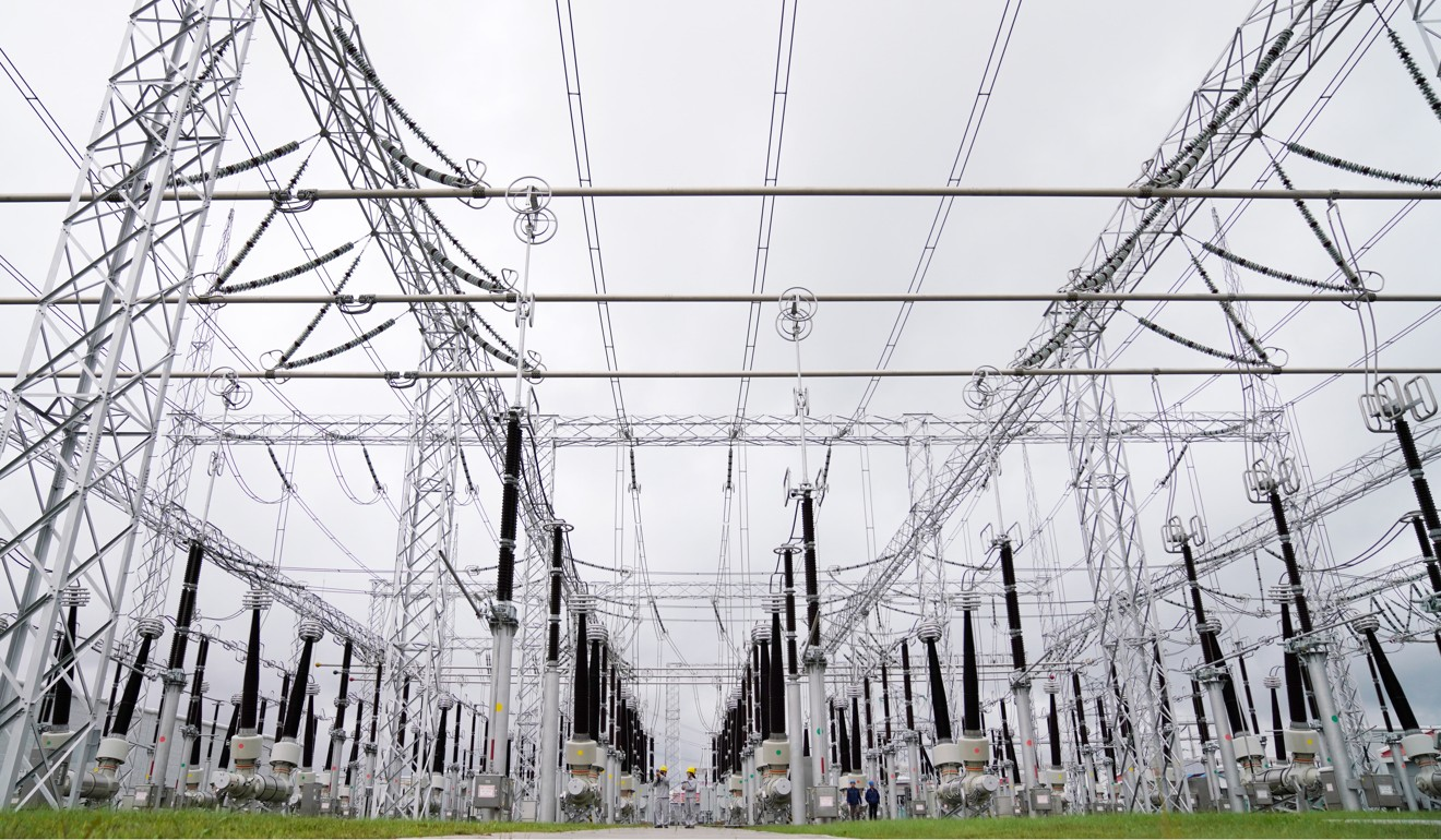 The State Grid Corporation of China holds a 40 per cent stake in the National Grid Corporation of the Philippines. Photo: Xinhua