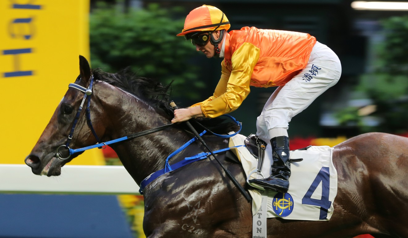Aquila chases a second career win on Saturday at Sha Tin.