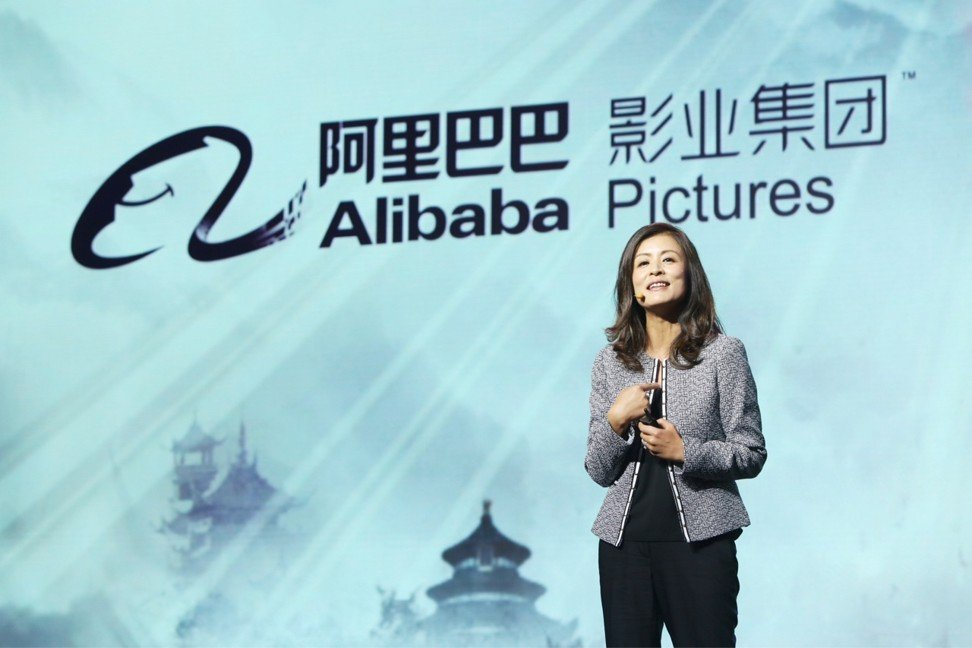 Zhang Wei, president of Alibaba Pictures. Photo: SCMP