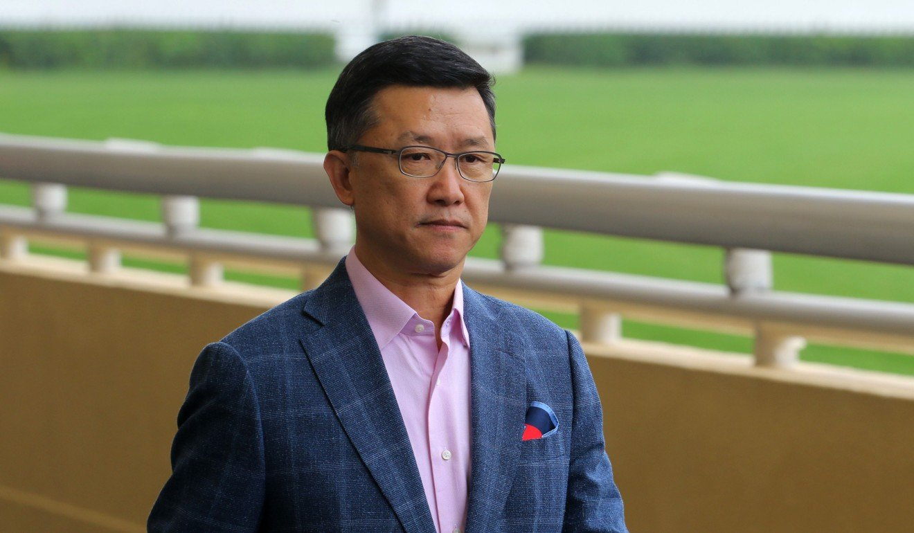 Trainer Peter Ho heads into Alberto Sanna's inquiry.