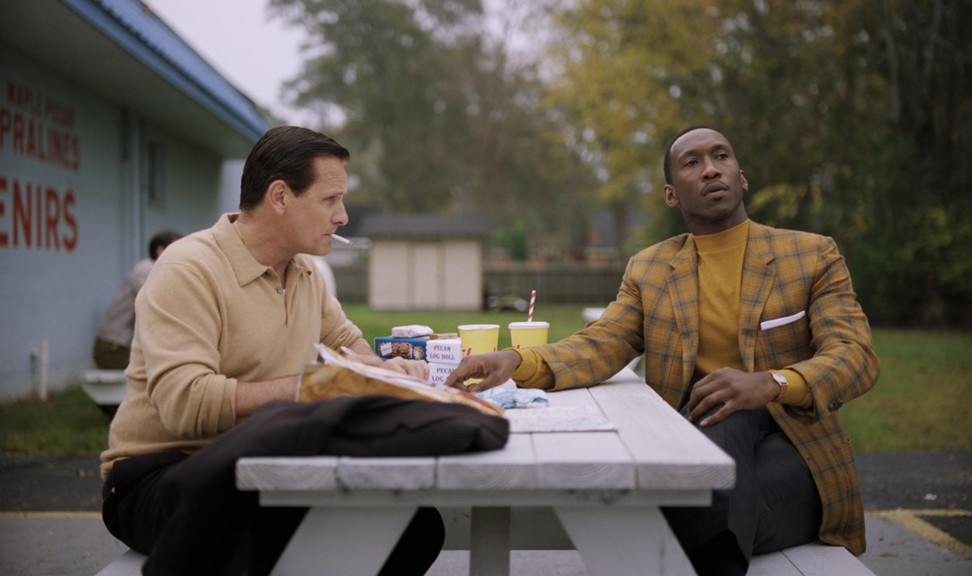 Alibaba Pictures distributed Green Book, starring Viggo Mortensen (left) and Mahershala Ali, in China and noticed viewers focused a lot on the Southern food the characters ate. Its sister food-delivery company offered viewers discounts to drive ticket sales. Photo: Alamy