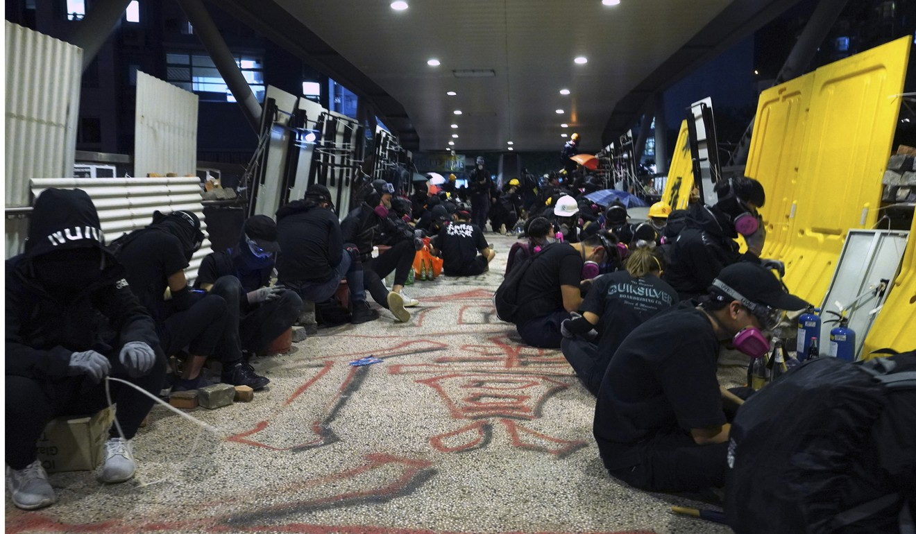 Hong Kong protests: City University reveals bill to fix vandalised campus will run to hundreds of millions of dollars