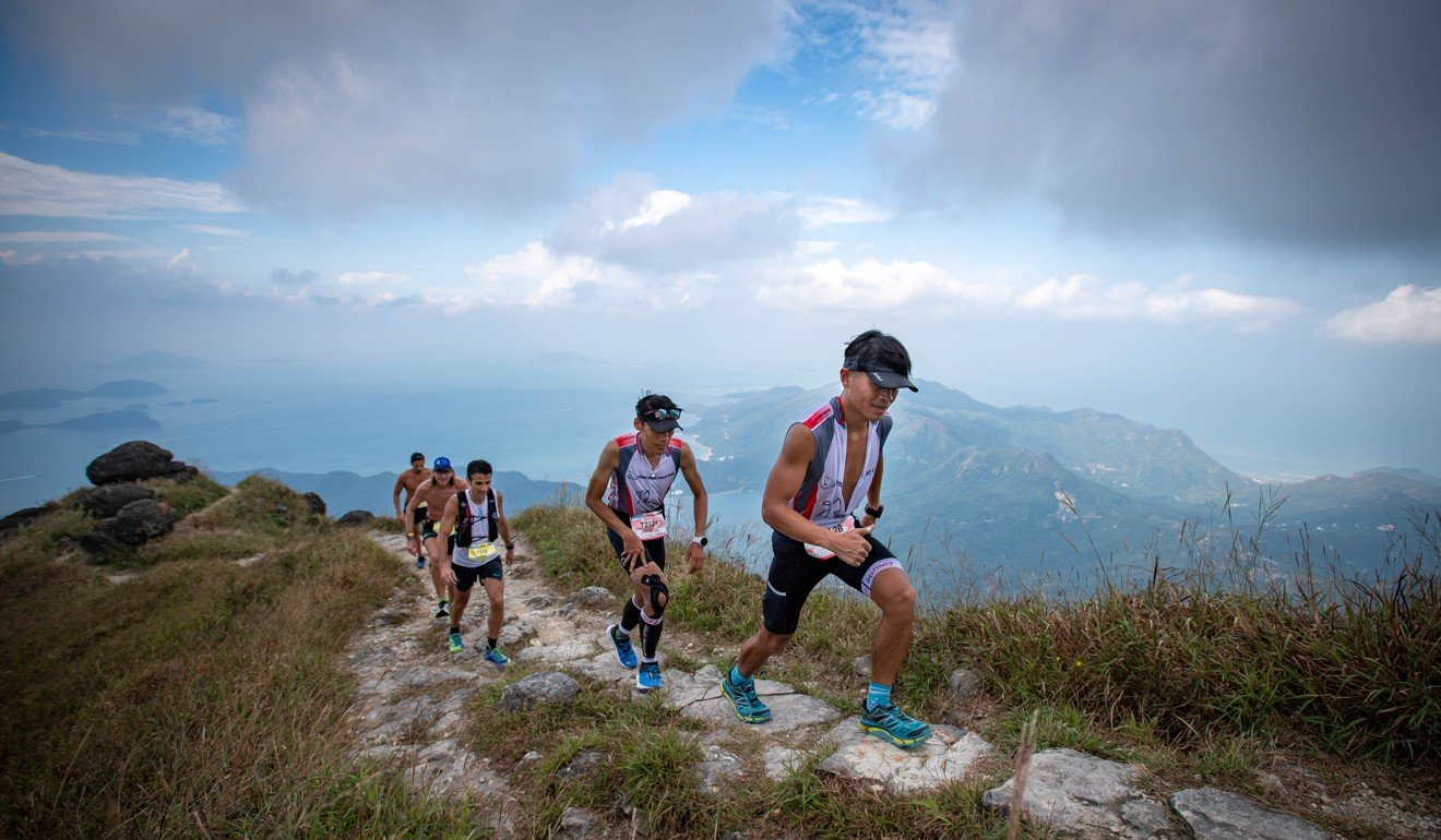 Runners take on the Lantau 2 Peak trail race this year. Photo: Action Asia Events