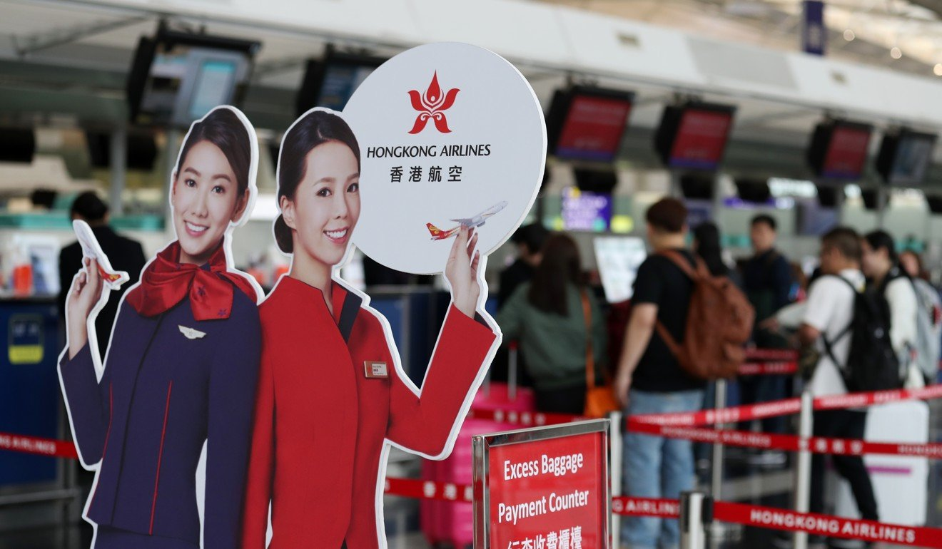 There is little faith among senior staff members at Hong Kong Airlines that its parent company will bail it out. Photo: Nora Tam
