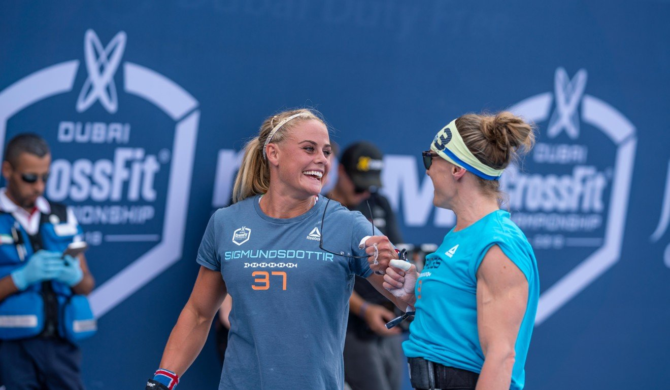 Sara Sigmundsdottir and Briggs should both compete for the top spot at Dubai. Photo: Dubai CrossFit Championship