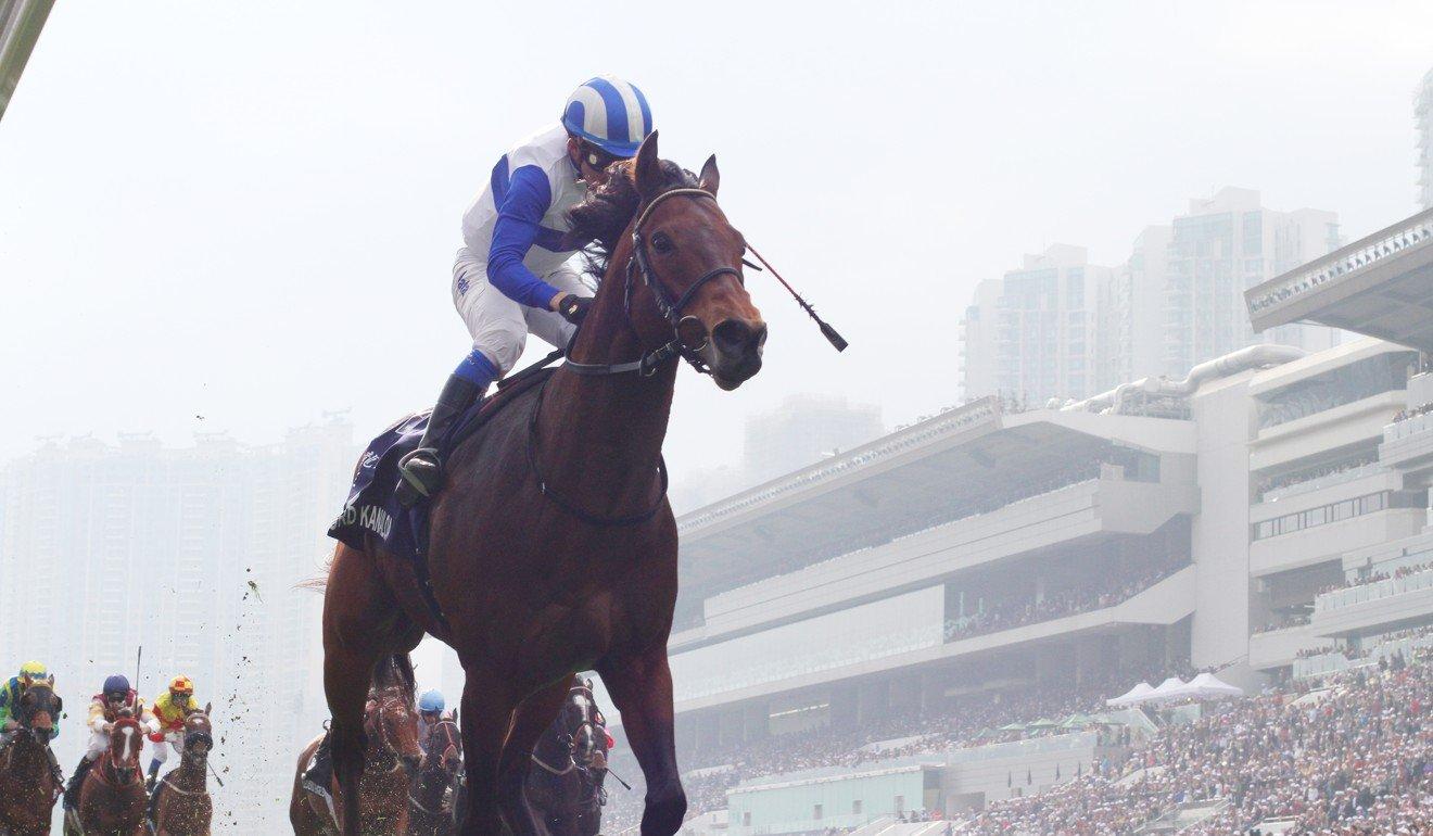 Lord Kanaloa easily wins the Hong Kong Sprint.