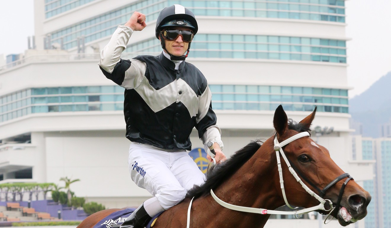 Zac Purton and Exultant are chasing more Group One success on Sunday.