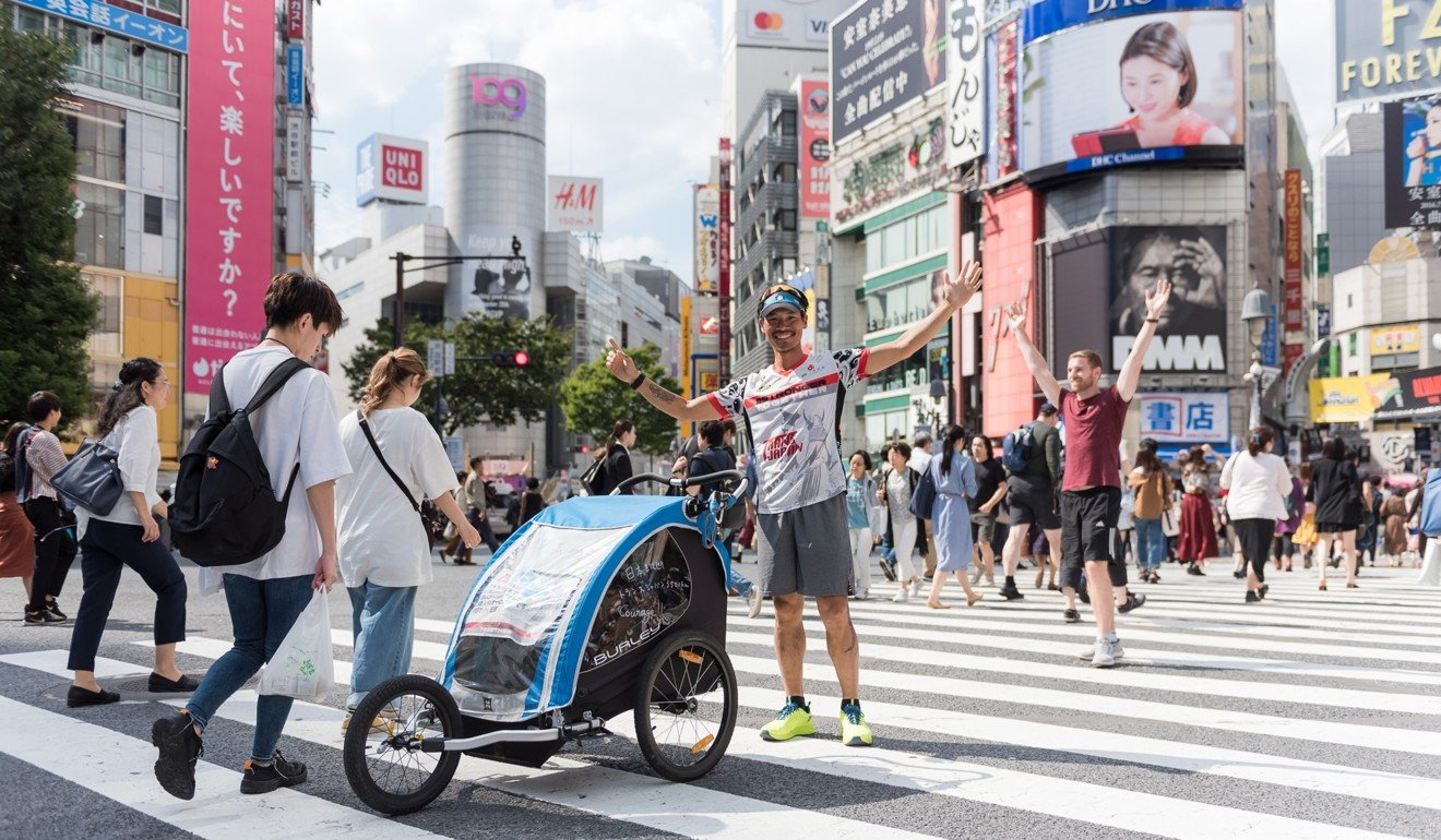 After Tokyo, Wong Ho-fai clocks up 500km in one week.