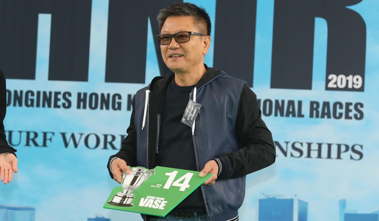 Exultant's owner Eddie Wong draws barrier 14.