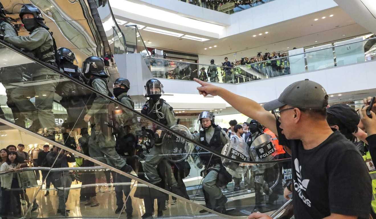 Hong Kong protests: vandalised Festival Walk to remain closed until first quarter of 2020 for repairs, hitting retail and catering brands