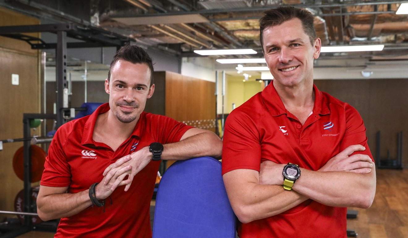 The coaches at Joint Dynamics, Erwan Desvalois and David Jacquier. Photo: K.Y. Cheng