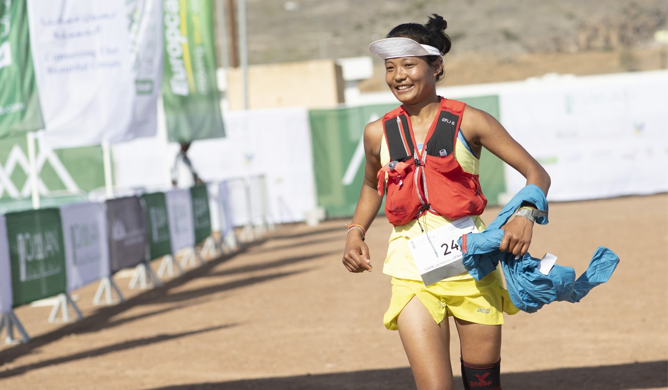 Mira Rai finishes third, despite a recent knee surgery. Photo: Lloyd Images/Kelvin Bruce