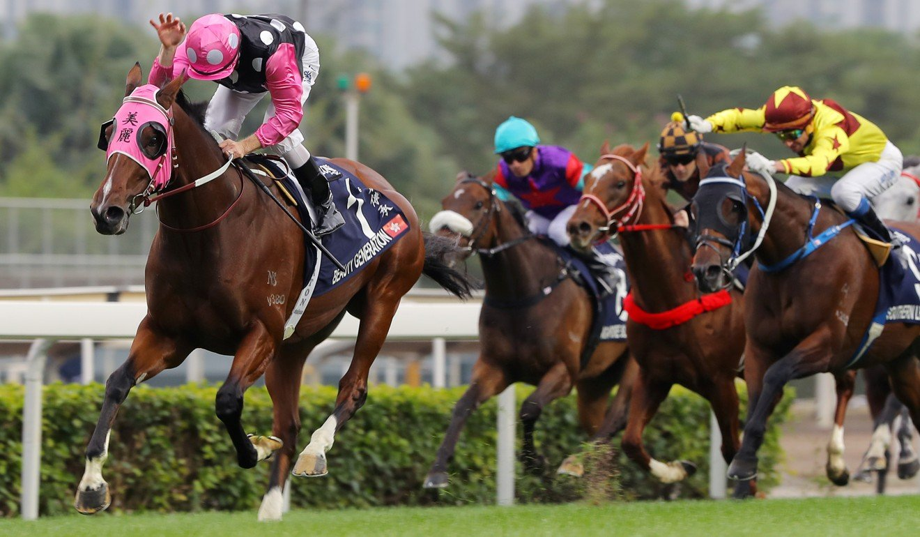 Beauty Generation wins the 2018 Hong Kong Mile.