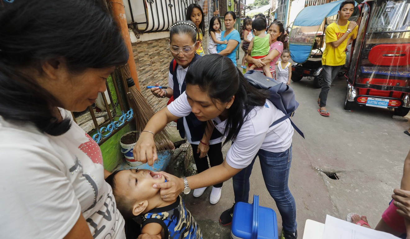 Malaysian baby diagnosed with polio, in country's first reported case in nearly 30 years
