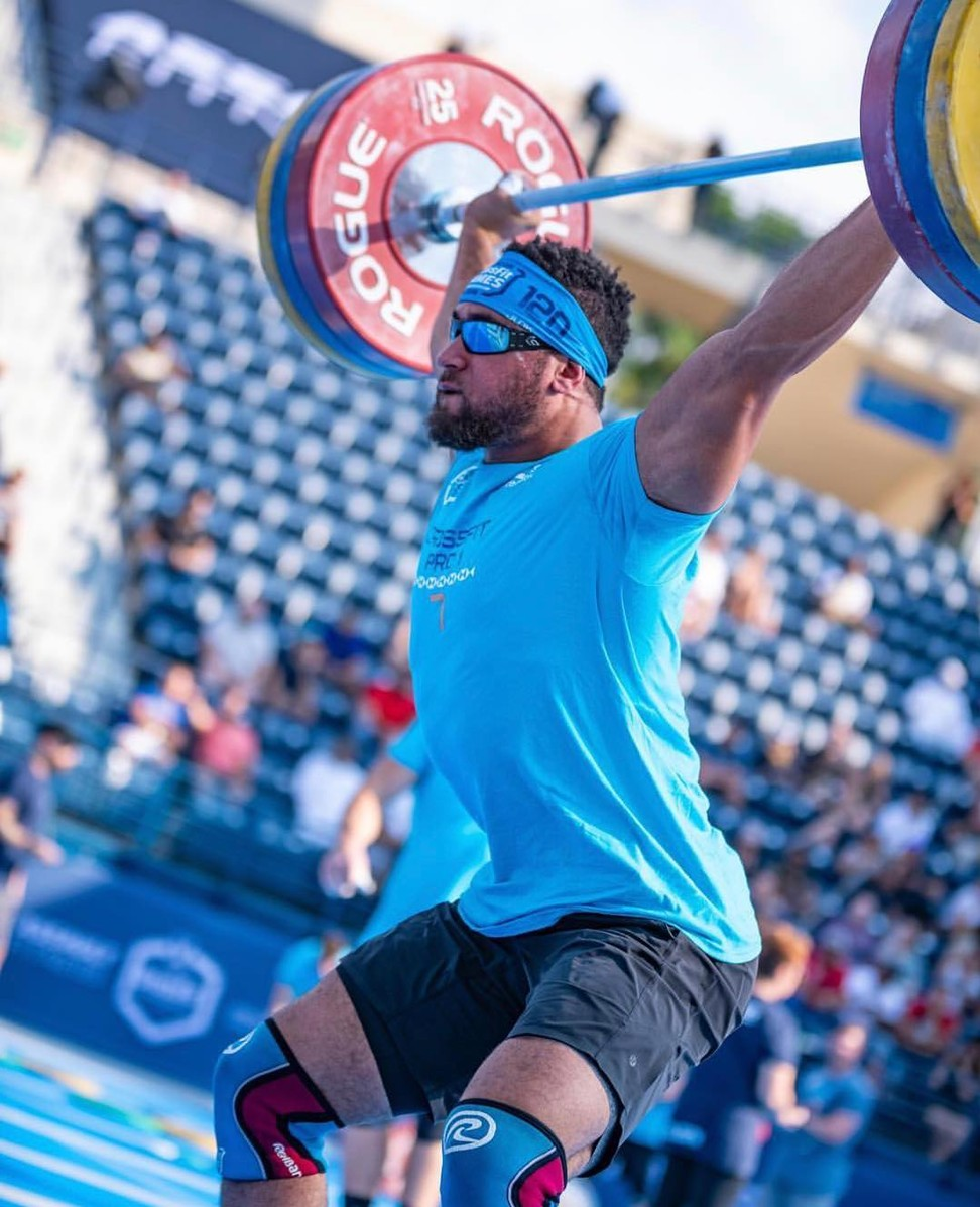 Morakinyo said he is all about building up to the prime of his CrossFit career. Photo: Dubai CrossFit Championship