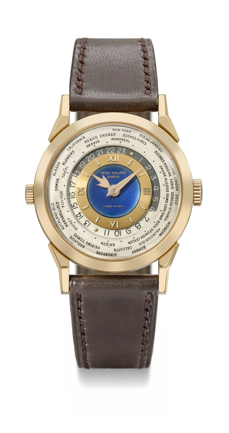 Which luxury watch brand – Patek Philippe, Audemars Piguet or Vacheron Constantin – sold the most expensive timepiece ever auctioned in Asia?