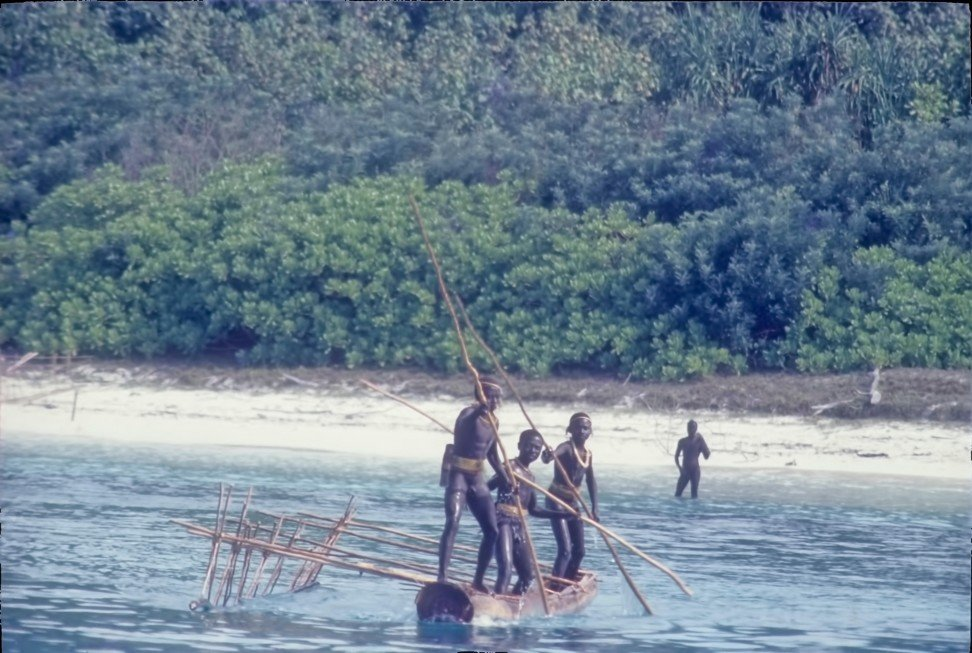 Sentinelese youth. Photo: Alamy