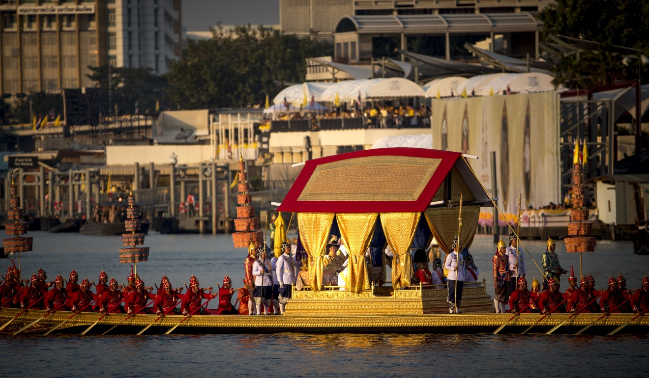 Thousands cheer as Thai King Maha Vajiralongkorn wraps up coronation with barge procession